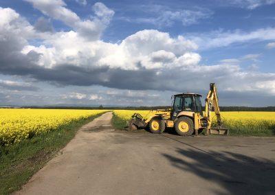 Rekonstrukce polní silnice Vlkov